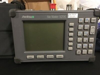 Anritsu S251C Site Master - Analyzer With Certificate of Calibration