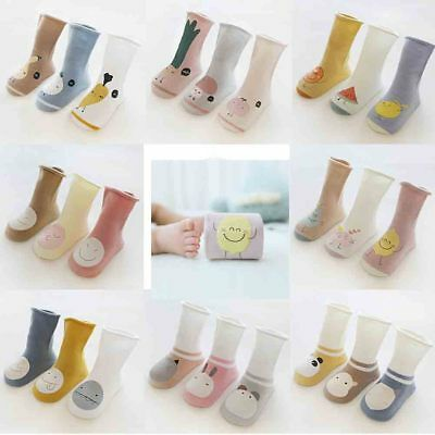 3Pair Baby Children Girls Toddler Socks Soft Cotton Warm Long Hosiery Tights Leg