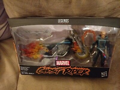 Marvel Legends series Ghost Rider with motorcycle. New