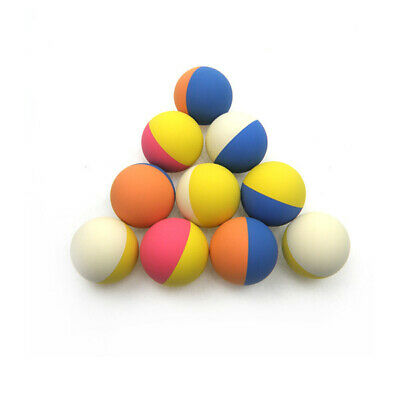 Rubber High Bounce Ball Mixed Colour Bouncing Pet Dog Toy Balls - 12 Pack