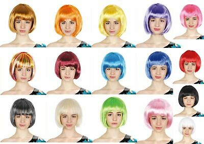 Fancy Dress Up Costume Party Bob Wig Cosplay Funk Disco Halloween 70s 80s