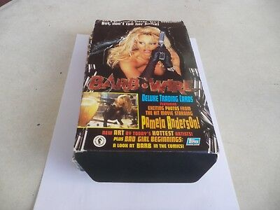 Barb Wire Pamela Anderson Exciting Photos  Stickers Trading Cards 1996 Curiosa