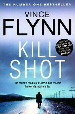 NEW Kill Shot By Vince Flynn Paperback Free Shipping