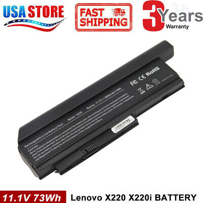 for Lenovo Thinkpad Battery 45N1175 45N1026 X220  44++ 0A36307 45N1023