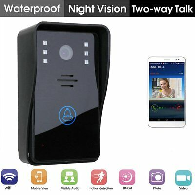 Wireless Home Smart Video Doorbell WIFI Security Camera With Indoor Chime NEW HM