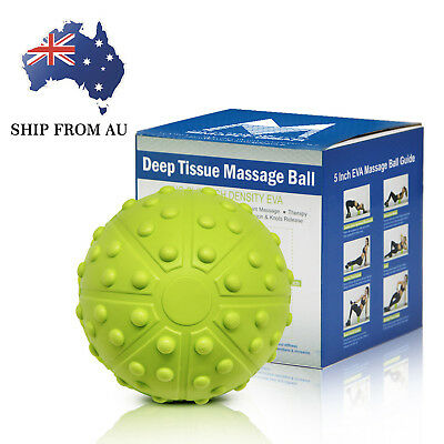 5IN High Density EVA Massage Ball for Myofascial Release Pain Relief Body Relax