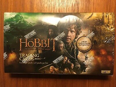 The Hobbit Battle of the Five Armies Sealed Hobby Box Cryptozoic