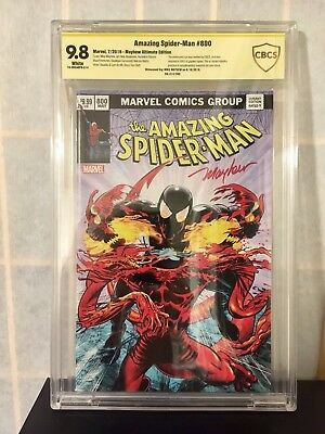 Amazing Spider-Man #800  Ultimate Variant CBCS SS 9.8 Mike Mayhew #14/300