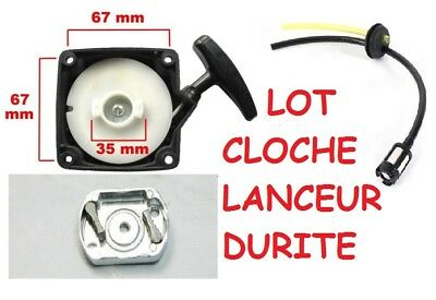 LANCEUR debroussailleuse pompe tariere 2temps 30 a 35  50cc entraxe 67mmm 4in1