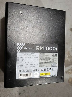 RMi Series RM1000i - 1000 Watt 80 PLUS Gold Certified Fully Modular PSU