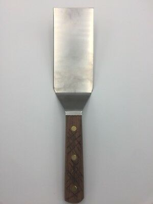 Precut and curved Dexter Hibachi Show Spatula 6in*3in。S8696