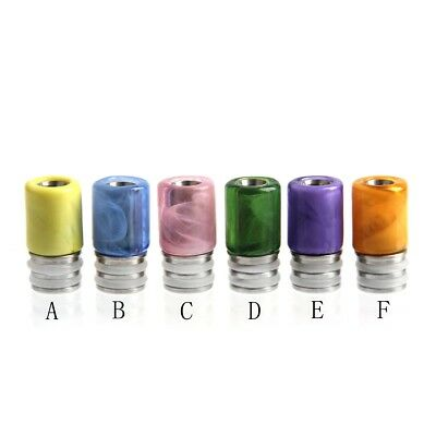 Stainless&Derlin 510 drip tip mouthpiece For RDA RTA 510 TFV8 Baby Beast