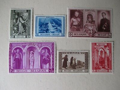 Belgium Stamps - Small Collection.
