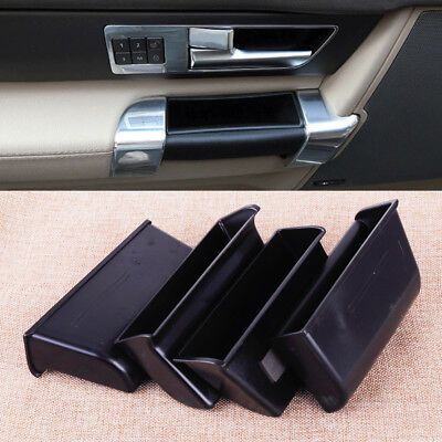 4Pcs Door Armrest Storage Box Phone Holder for Land Rover Discovery 4 2010-2015