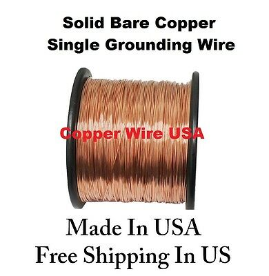 20 AWG SOLID Bare Tinned-Copper Bus Wire 1/4 Lb 78 Ft Spool