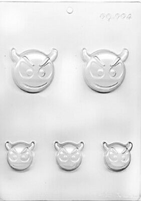 Emoji Devil Chocolate Mould or Soap Mould