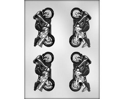 Motorcycle 3D Chocolate Mould