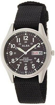 NEW ALBA watch Solar hard Rex 10 ATM water resistant AEFD 557 Men's From JAPAN