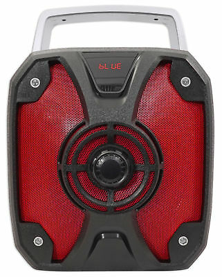 "Rockville ROCKBOX 6.5"" 100 Watt Portable Rechargable Bluetooth Speaker w USB/SD"