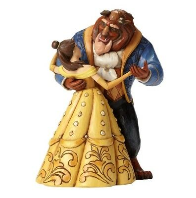 Jim Shore Beauty and the Beast Dancing Figurine, 25th Anniversary