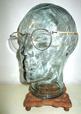 Antique American Optical Ful Vue Safety Glasses Spectacles AO Old Vtg Retro USA