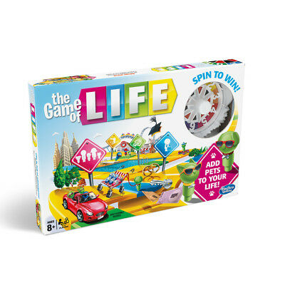 The Game of Life Board Game 2018 New Edition