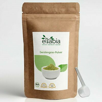 Organic Barley Grass Powder Juice Natural Superfood Made in Germany eltabia