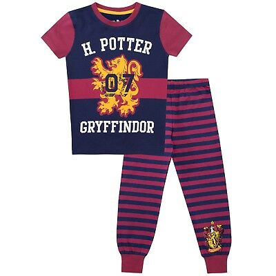 Girls Harry Potter Pyjamas | Harry Potter PJs | Gryffyndor Pyjama Set | Snug Fit