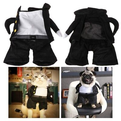 Pet Costume Clothes Halloween Funny Clothing Student For Dog Cat Apparel Cosplay