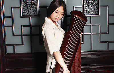 """48"""" Professional Guqin Chinese 7-stringed zither instrument - Fu-hsi Style #2815"""
