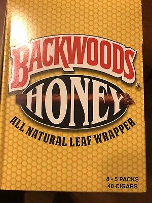 "Backwoods Honey (PACK OF 40) Very Rare "" Fast Shipping """
