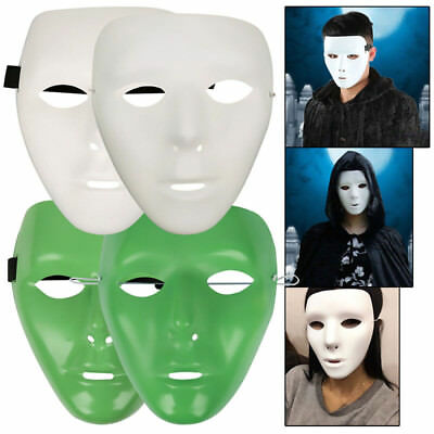 CA Halloween Scary Mask Cosplay Party Horror Theater Prop Masquerade Adult Dance