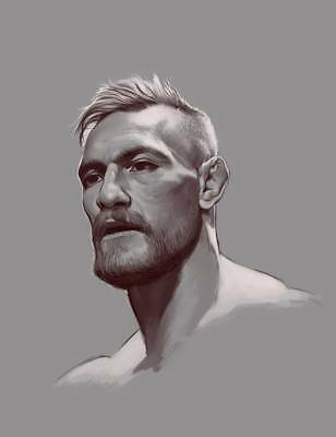 "TY09418 Conor McGregor - Irish MMA UFC Featherweight Champion 14""x18"" Poster"