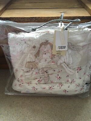 Mamas and Papas once upon a time Cot bedding and bumper