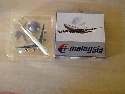 Schabak  Boeing 747-400 / Malaysia AIRLINES / Modell  1:500 - OVP -