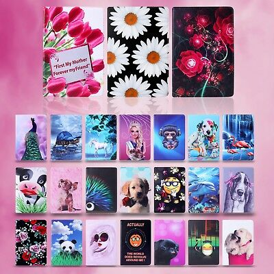 New Apple Ipad Air2 & More Model Leather Book Stand Protect Case Cover Polka Art