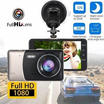 "HD 1080P 4"" Car DVR Dash Camera Vehicle Video Recorder Dash Cam G-Sensor Lot OY"