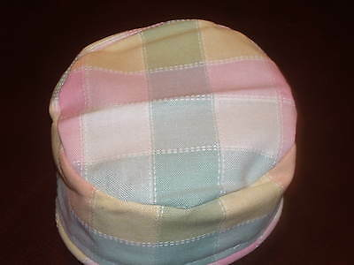 Longaberger Pastel Plaid Handle Gripper
