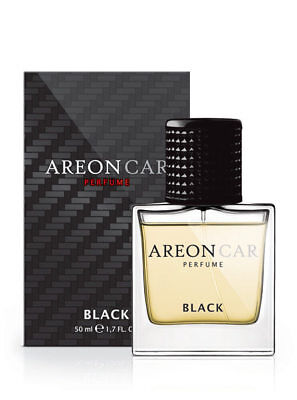 Areon Car *BLACK* 50ml Car Air Freshener Quality Perfume + Free Gift