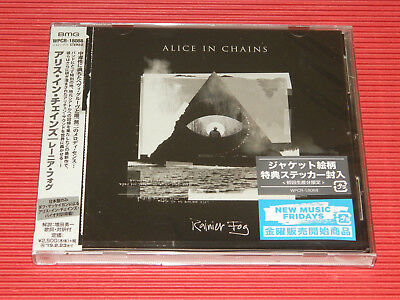 2018 Japan Cd Alice In Chains Rainier Fog Limited 1St Press With Sticker