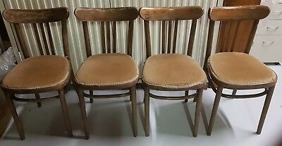 Rail Back Bentwood Chairs Rare