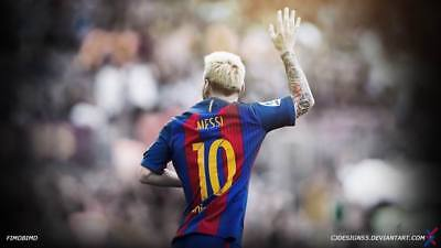 """TY07659 Lionel Messi - FCB Football Star Soccer 24""""x14"""" Poster"""