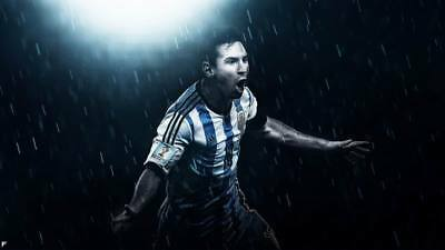 """TY07716 Lionel Messi - FCB Football Star Soccer 24""""x14"""" Poster"""