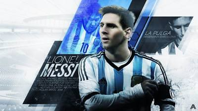 """TY07662 Lionel Messi - FCB Football Star Soccer 24""""x14"""" Poster"""