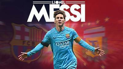 """TY07619 Lionel Messi - FCB Football Star Soccer 24""""x14"""" Poster"""
