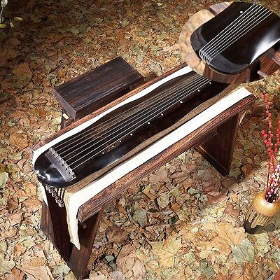 """48"""" Highest grade Guqin Chinese 7-stringed zither instrument -JiaoYe Styley#2821"""