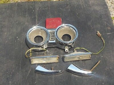 1962 Buick Skylark Complete Head Light Assembly and Parts