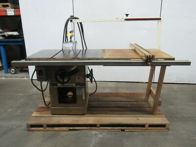 "Powermatic Model 66 5HP 10"" Table Saw Fence & Table Extension 230/460V 3 Ph"