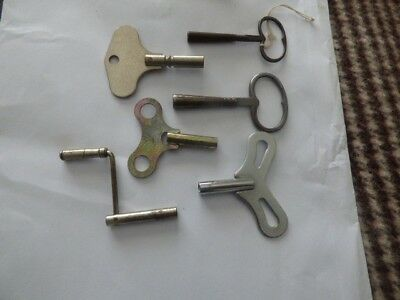 Old Clock Keys