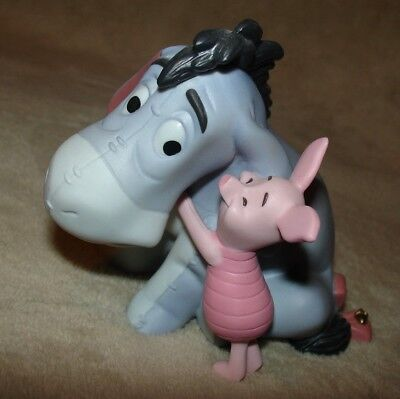 "EEYORE Disney Pooh & Friends Figurine ""Everythings better together"" porcelain"